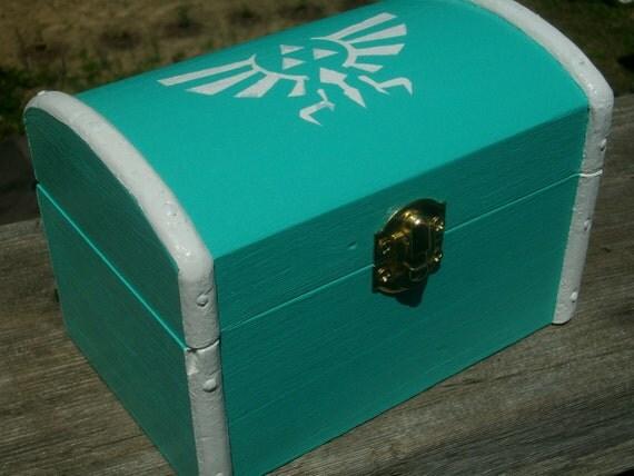 Zelda Royal/Hylian Crest Wooden Box