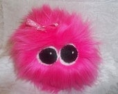 Pygmy Puff, Adorable Female Hot PInk Plush Toy