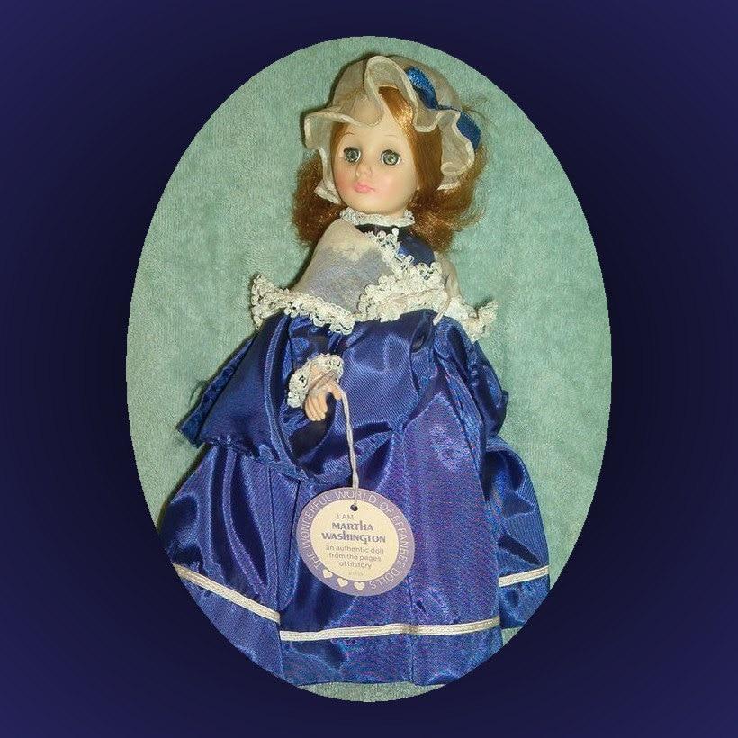 1153 Martha Washington 1975 Effanbee Doll Famous Women
