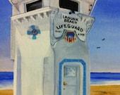 Laguna Beach Lifeguard Stand