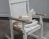 RESERVED FOR HEIDI - Shabby Rocking Chair
