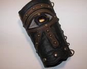 Eye of Horus Leather Cuff