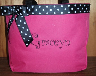 Personalized Tote Baby Diaper Bag