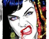 Gypsy Vampire 8x10 archival print