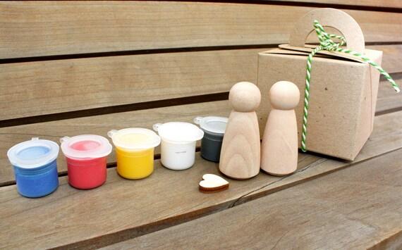 D I Y  C A K E  T O P P E R Bride & Groom kit