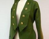 Maria Severyna Wool Military Jacket Blazer Coat