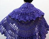crochet shawl --  This Magic Moment
