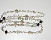 Platinum Smoke Necklace