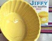 Vintage Yellow Baking Dish