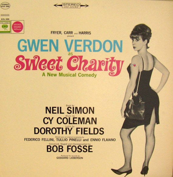 "1966 ""Sweet Charity"" Original Broadway Soundtrack Album"