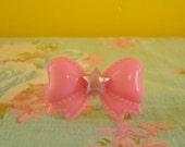Gumball Machine Inspired Plasticy Fairy Kei Bow Ring