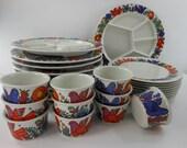SALE 50.00 Less 30 Pieces ACAPULCO Villeroy Boch Luxembourg Porcelain Restaurant Ware
