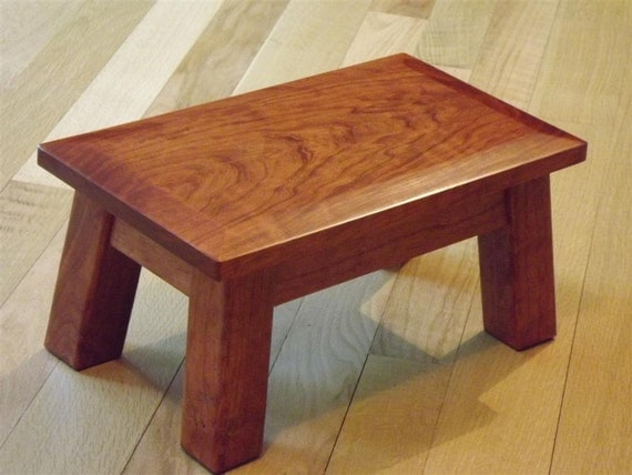 Stool Solid Cherry Reclaimed Wood Wood By