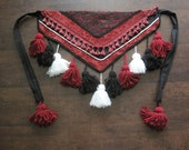 Tribal Belly Dance Tassel Belt - Custom Made, Made To Order