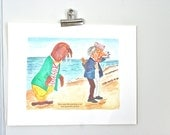 SALE alice in wonderland print: the walrus and the carpenter