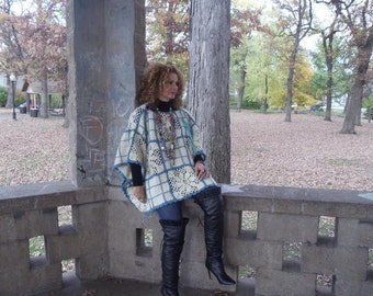 Wool,Crochet,Upcycled,Eco Friendly,Oversize,One Size Sweater,  OOAK ,Sale Was 75.00