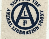 Support the Animal Liberation Front - ALF - Patch
