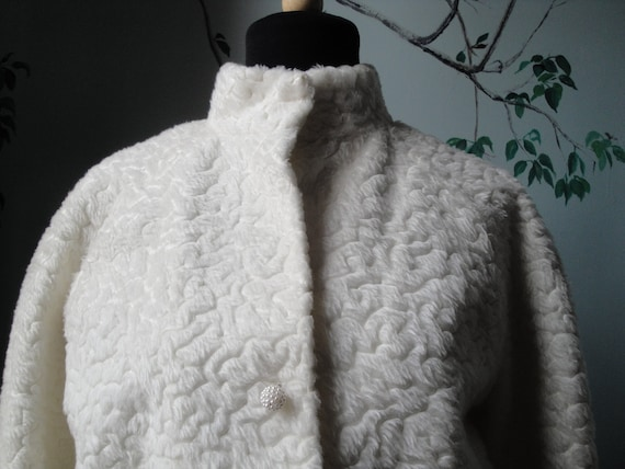REserved For SALLY. Please don't buy Faux Persian Lamb Jacket SALE 30% off