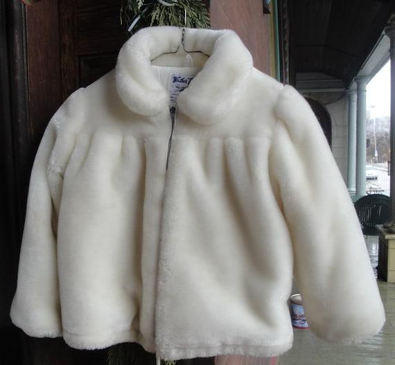 Girls Faux Fur Parka SALE 20% off