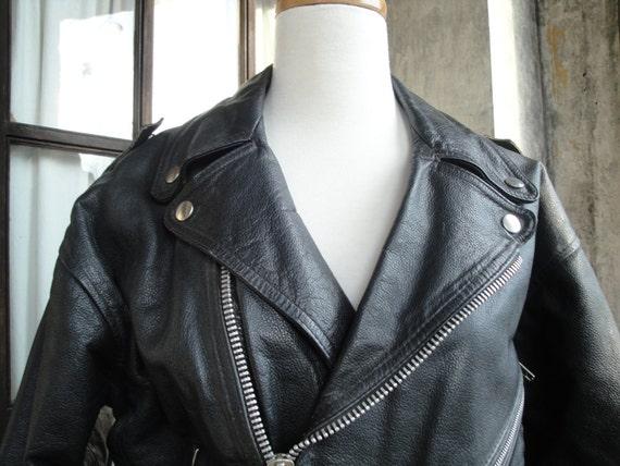 80s Motorcycle Jacket