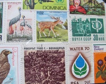 Vintage Ecology Stamp Collection 15 Unopened Package