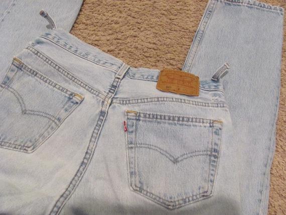 Vintage Levis 501 Jeans - 32 x 32 Nicely Broken In