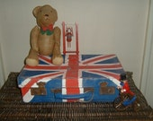 George VI Vintage Union Jack suitcase