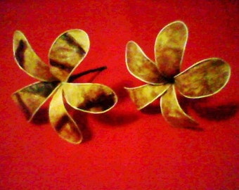 "Tapa flower ""Plumeria"""