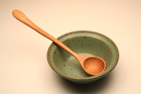 Small wooden ladle for sauces