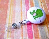 Fabric Retractable Badge Holder - Prince Charming