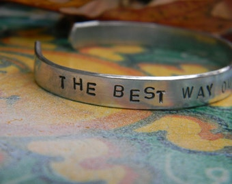 The best way out is always through-  a great Robert Frost Quote