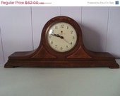 Antique Handsome Mantle Clock TREASURY ITEM