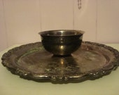 Victorian  Silverplate Platter