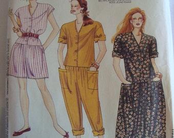 Vintage McCalls Sewing Pattern Womens Clothing TREASURY ITEM