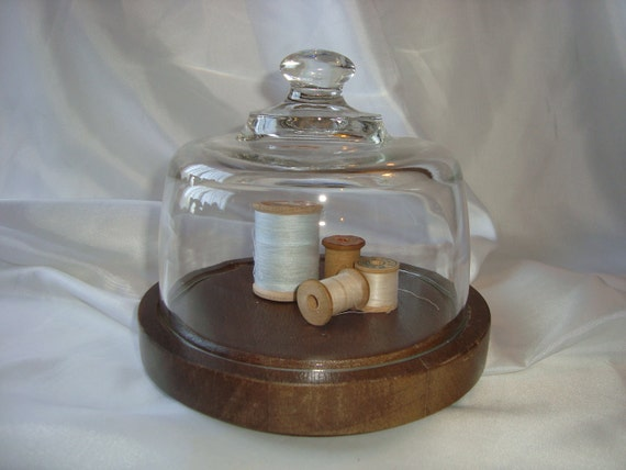 Cloche Glass Cheese Cloche Dome Display