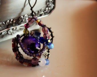 Mystic Fantasy Purple Pendant from MAYA Collections