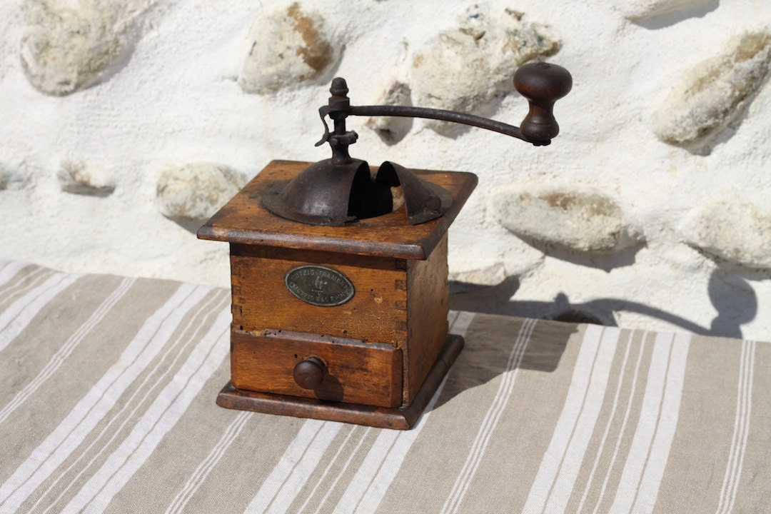 Coffee Grinder Of 1920 ~ French vintage mutzig framont coffee grinder mill s