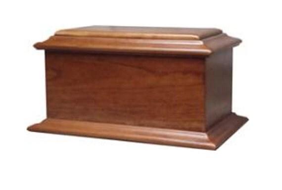 American Hardwood Cremation Urn Cherry