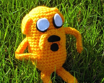 Crochet Jake from Adventure Time - Made to Order