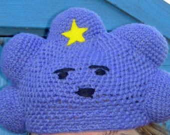 Crochet Lumpy Space Princess from Adventure Time Beanie Hat - Made to Order