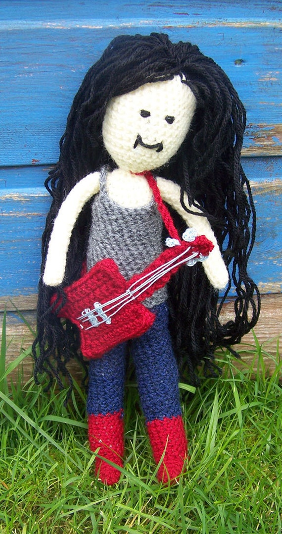 Crochet Marceline the Vampire Queen - Adventure Time - Made to Order