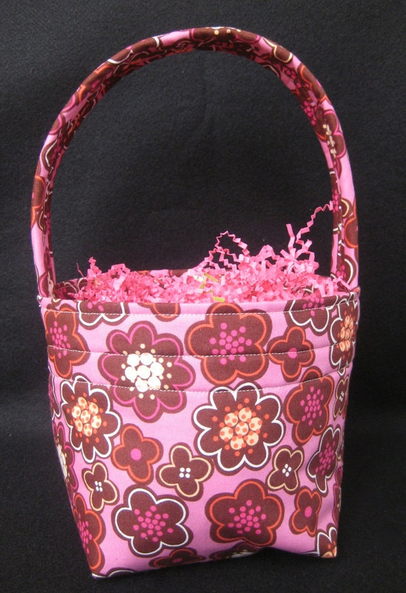 Fabric Easter Basket or Spring Basket