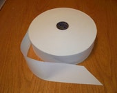 """White Quilt Binding Roll tie dye blank ribbon stamping (98 yards) 2 1/4"""" wide"""