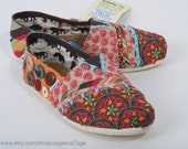 Toms Shoes- Fabric Covered STYLE 1