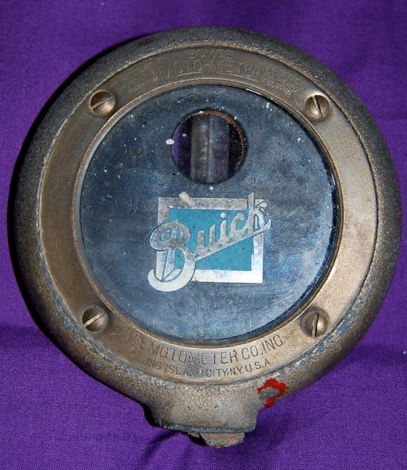 Reserved for Lawrence-----Vintage Buick 1913-1918 Boyce Motometer with Buick Emblem  Vintage Cars and Accessories   Epsteam
