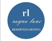 RESERVED LISTING for lpbyrum - banner