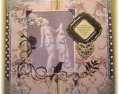"inspirational collage, handmade vintage look mixed media--""Be You"""