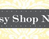Premade 12 Piece Etsy Shop Set - Honeycomb