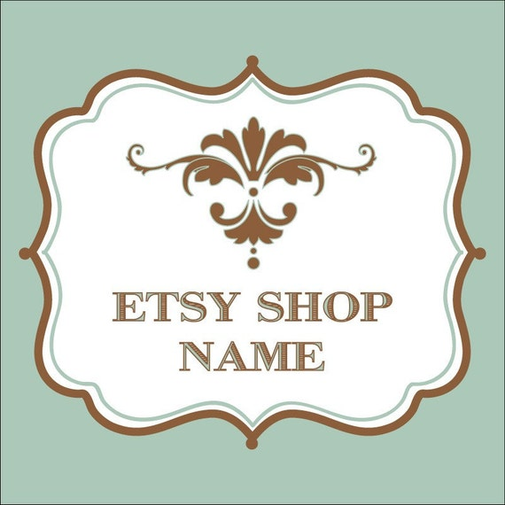 Premade 12 Piece Etsy Shop Set - Mint Chocolate