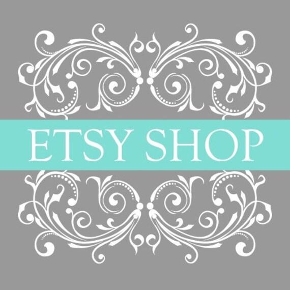 Premade 12 Piece Etsy Shop Set - Beachy Keen